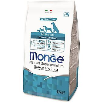 Monge NS Adult Hypoallergenic Salmon and Tuna (Dogs , Dog Food , Dry Food)