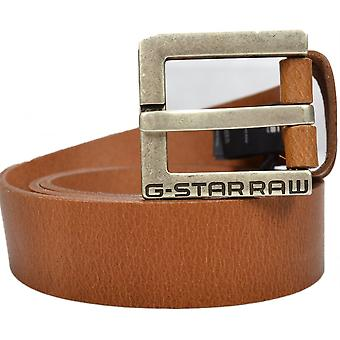 G-Star Duko Cuba Leather Brown Belt