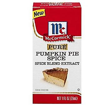 McCormick Pure Pumpkin Pie Spice Blend Extract 2 Bottle Pack
