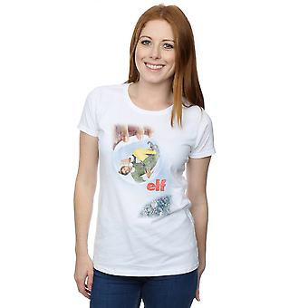 Elf Women's Distressed Poster T-Shirt