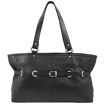Greenland of high class nappa leather of Tote shoulder bag 1639-20