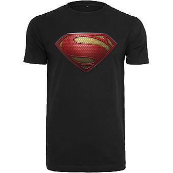 Merchcode shirt - black SUPERMAN shield