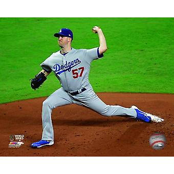 Alex Wood Game 4 of the 2017 World Series Photo Print
