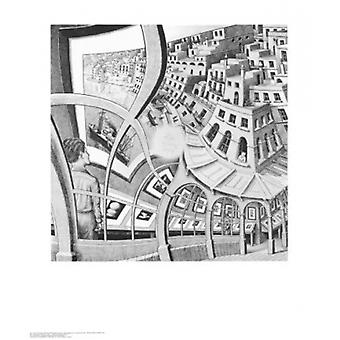 Print Gallery Poster Print by MC Escher (22 x 26)