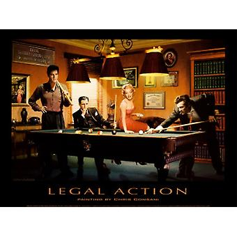 Legal Action Poster Print by Chris Consani (32 x 24)