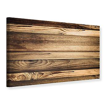 Canvas Print Wood Trend