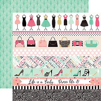 Fashionista Double-Sided Cardstock 12