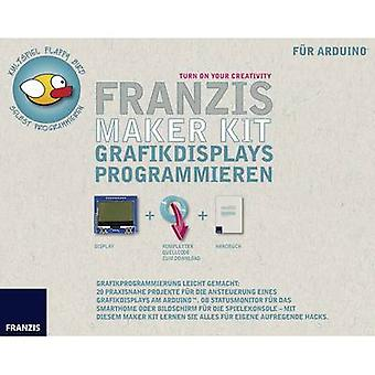 Science kit (set) Franzis Verlag Maker Kit Grafikdisplays programmieren 978-3-645-65278-0 14 years and over