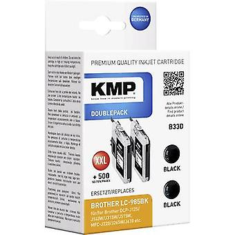 KMP Ink replaced Brother LC-985 Compatible Dual Bl