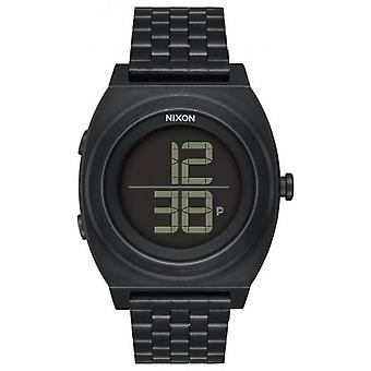 Nixon The Time Teller DIGI SS Watch - Black