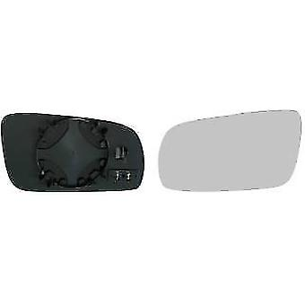 Left Mirror Glass (heated) & Holder For Volkswagen GOLF Mk IV 1997-2005