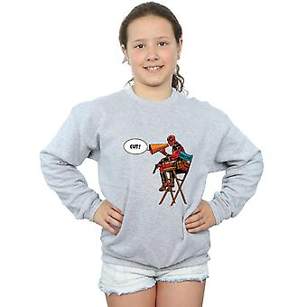 Marvel Girls Deadpool Director's Chair Sweatshirt