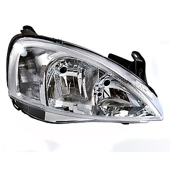 Right Headlamp for Opel CORSA C 2002-2006
