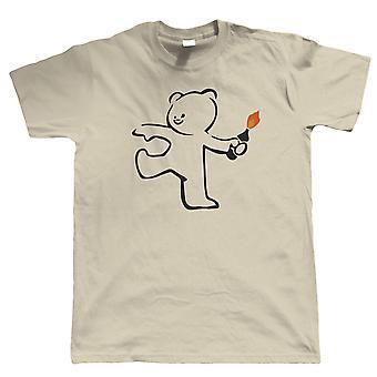 Teddy Bomber, Mens T Shirt