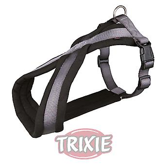Trixie Premium Padded Harness, Graphite (Dogs , Collars, Leads and Harnesses , Harnesses)