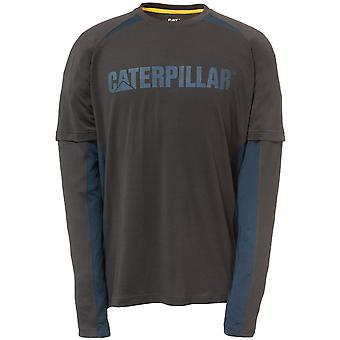 CAT Workwear Mens Expedition 100% Polyester Long Sleeve T-Shirt