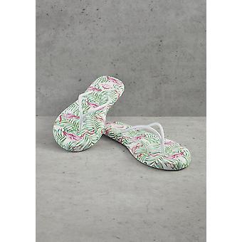 Women's Flamingo Printed Flip Flops