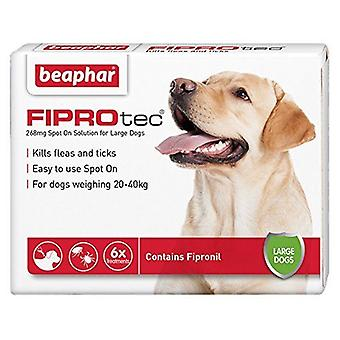Beaphar FIPROtec Pipette for Large Dog, 4 TREATMENTS