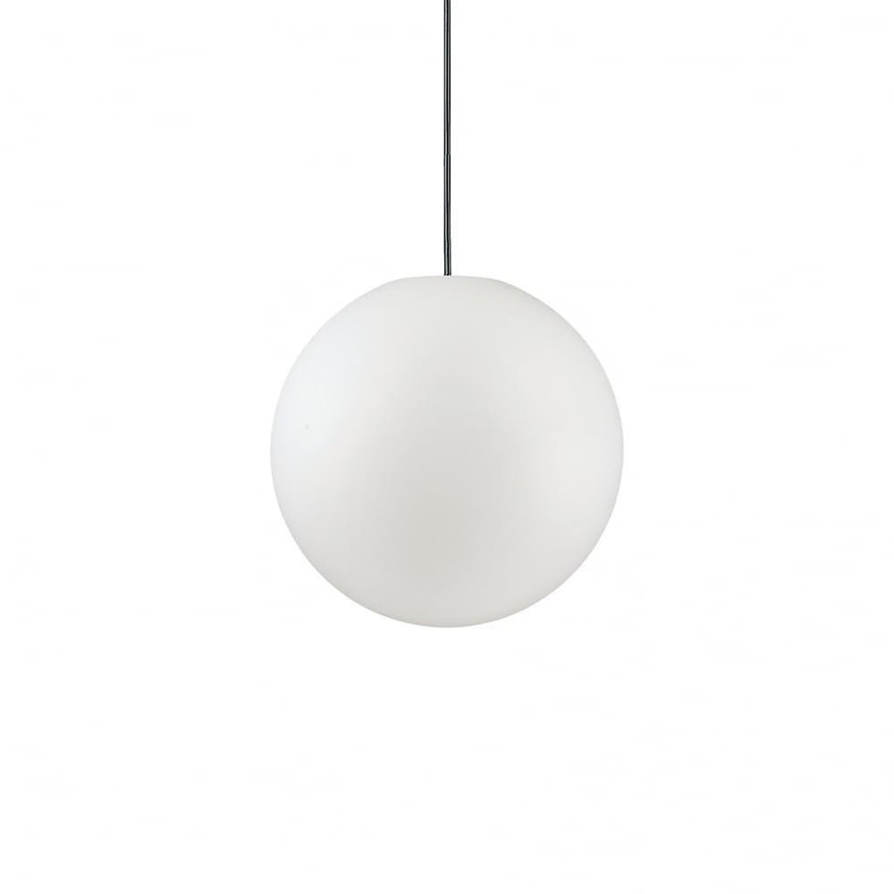 Ideal Lux Sole 30cm Opal Globe Pendant Light
