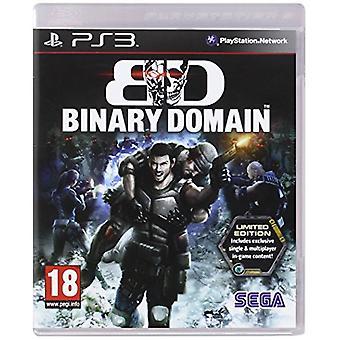Binære domæne Limited Edition spil (PS3)