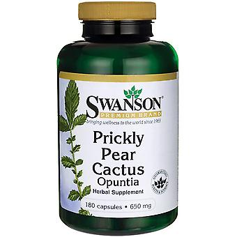 Swanson Prickly Pear Cactus Opuntia 650 mg 180 caps (Diet , Supplements)