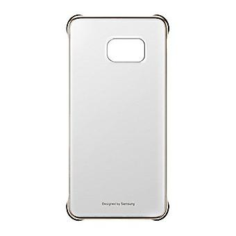 Samsung EF-QG928CFE Hard Cover case clear gold, G928 Galaxy S6 edge +