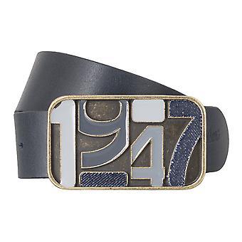 WRANGLER correa cuero cinturones hombre cinturones azul 4785