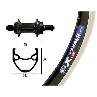 Bike parts 26″ wheel Rigida hub X-Plorer + screw circle around 6/7