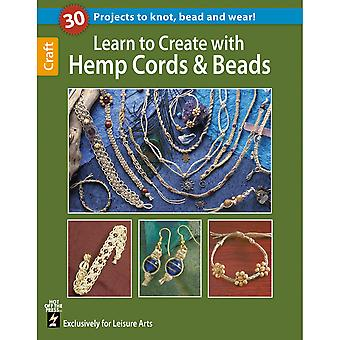 Leisure Arts-Learn To Create With Hemp Cords & Beads