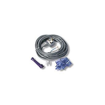 Plug Cab Grey Flex Silver