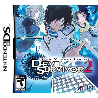 Shin Megami Tensei Devil Survivor 2 Nintendo DS spel