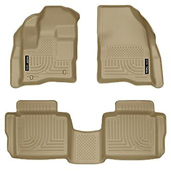 Husky Liners Front & 2nd Seat Floor Liners (Footwell Coverage) Fits 10-18 Taurus