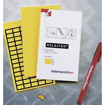 Cable identifier Helasign 15 x 9 mm Label colour: Yellow HellermannTyton 598-92227 TAG122FB-270-YE No. of labels: 700