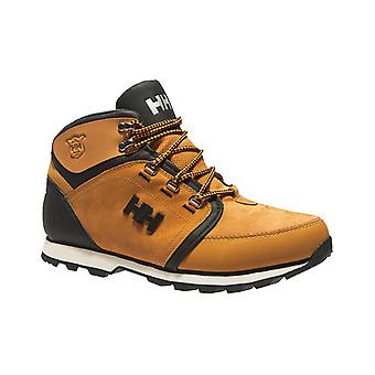 Helly Hansen Koppervik mens leather winter boots Brown