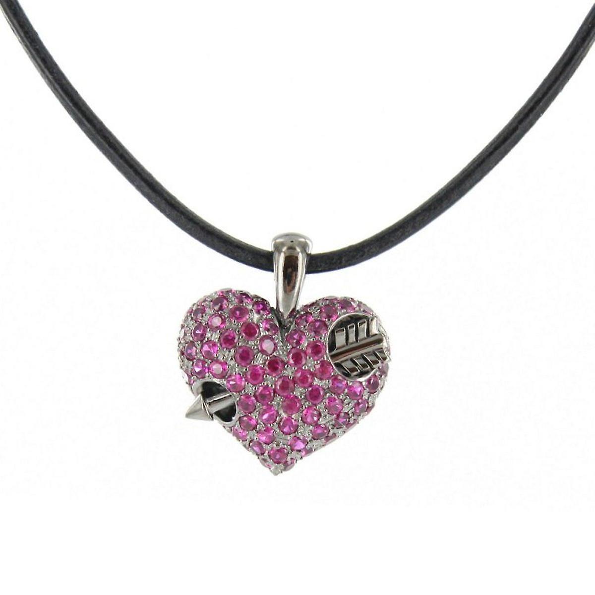 Heartbreaker by Drachenfels Ladies silver pendant necklace LD AT 52 RE-B