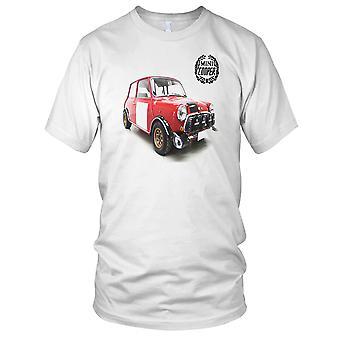 Mini Cooper-britische Oldtimer-Herren-T-Shirt