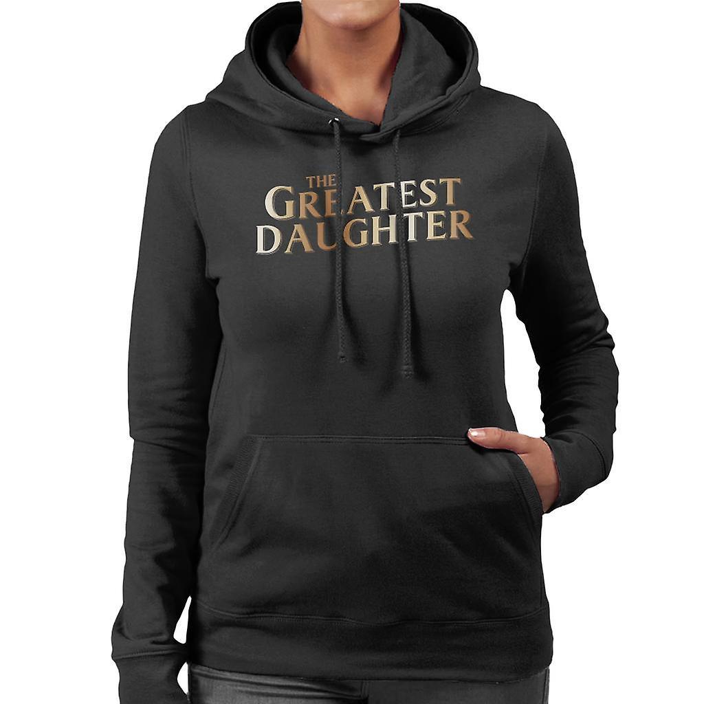 2e4f61cd96 Die größte Tochter Damen Sweatshirt mit Kapuze | Fruugo