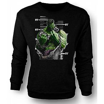 Mens Sweatshirt Hulk - tegneserie - kjeder