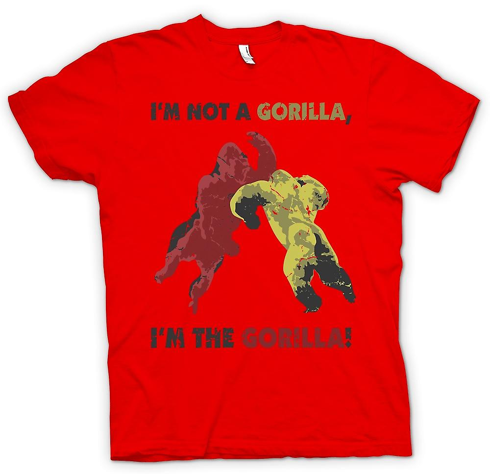 Mens T-shirt - I'm Not a Gorilla - Im The Gorilla - Cool