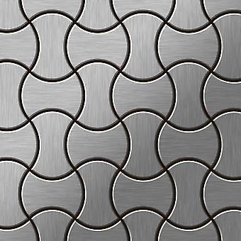 Metal mosaic Stainless Steel ALLOY Infinit-S-S-MB