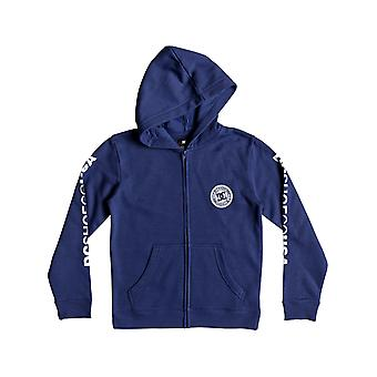 DC Sodalit Blue Circle Star barn Zip Hoody