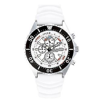 CHRIS BENZ - Reloj de buceo - DEPTHMETER CHRONOGRAPH 300M - CB-C300-W-KBW