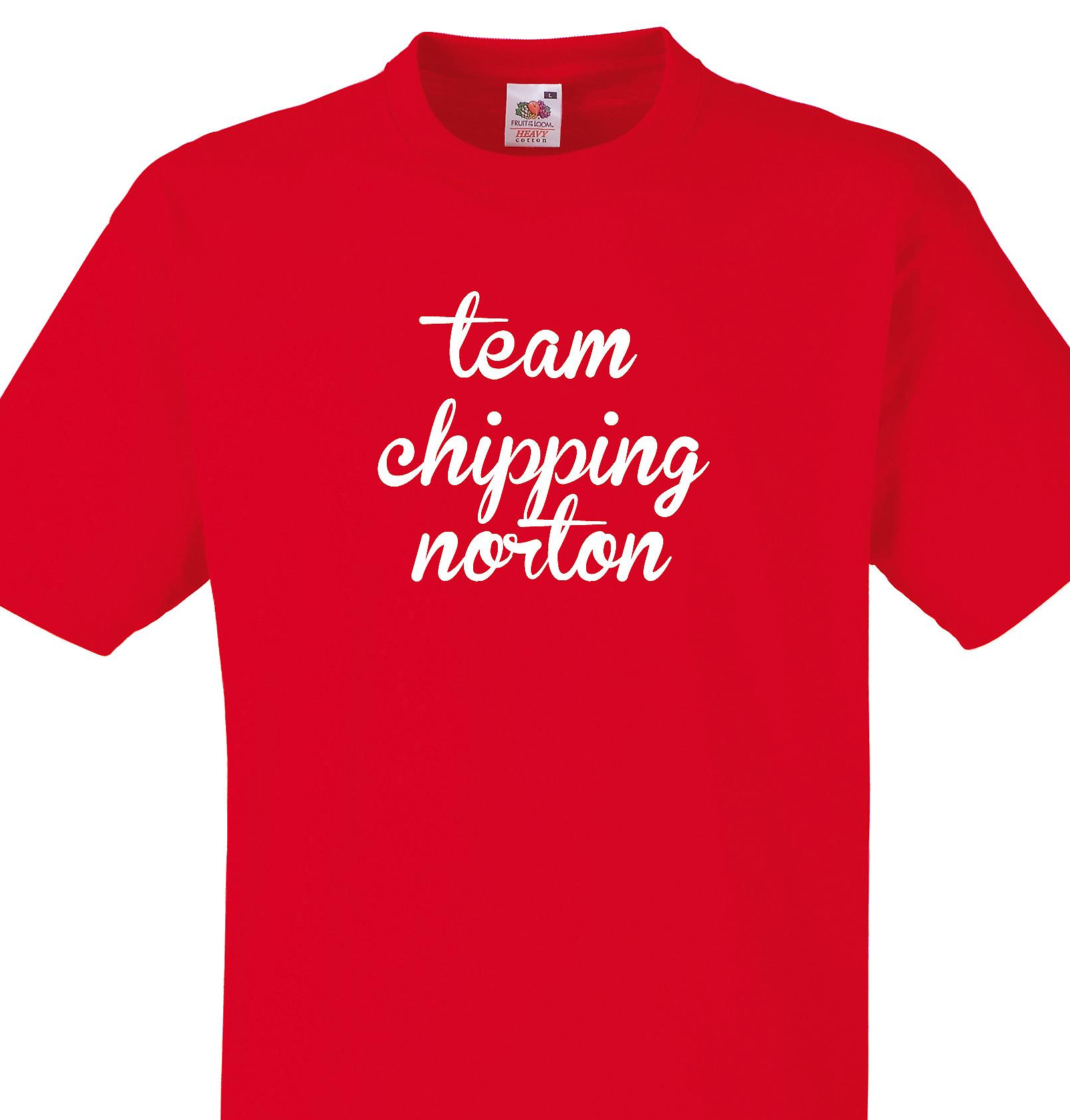 Team Chipping norton Red T shirt