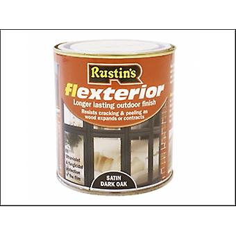 Flexterior Rustins barniz oscuro roble 500ml