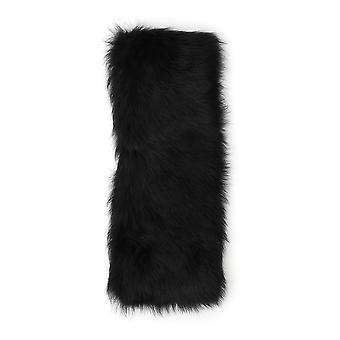 Desa 1972 Black Faux Fur Scarf