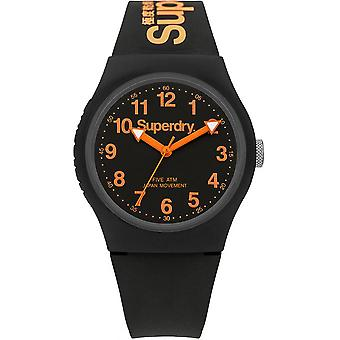 Watch Superdry SYG164B - round mixed black