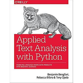 Tekstanalyse met Python door toegepaste tekstanalyse met Pytho toegepast