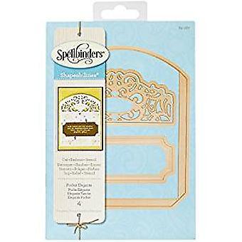 Spellbinders Pocket Elegante Shapeabilities Die (S5-287)