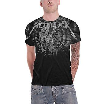 Metallica T Shirt Justice for All Stoned Band Logo new Official Mens Black