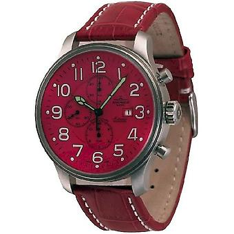 Zeno-watch mens watch giant chronograph date 10557TVD-a7